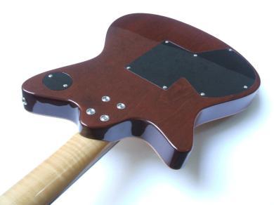 Guitarra dise+¦ada y constru+¡da por Galasso Guitars - 115145948566207