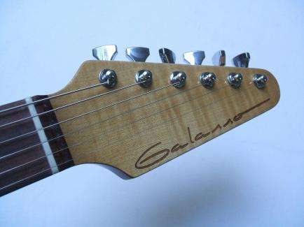 Guitarra dise+¦ada y constru+¡da por Galasso Guitars - 115146278566174