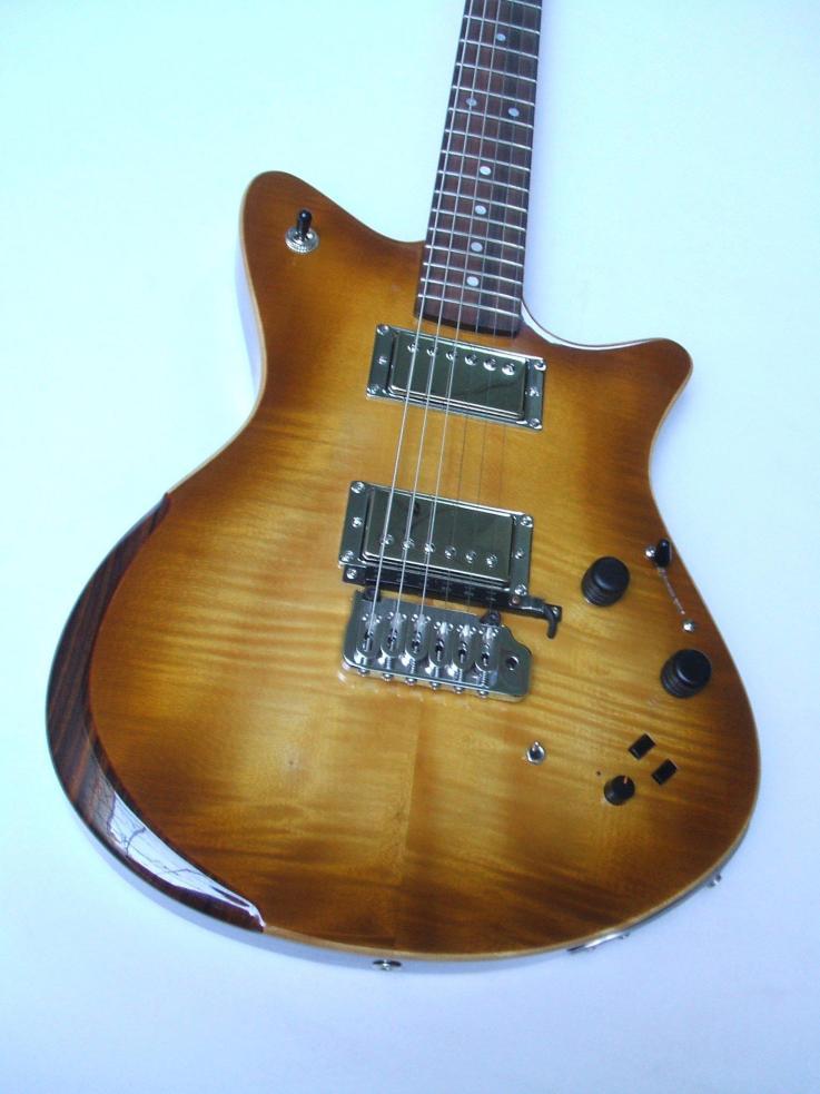 Guitarra dise+¦ada y constru+¡da por Galasso Guitars - 115146585232810