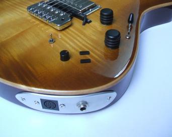 Guitarra dise+¦ada y constru+¡da por Galasso Guitars - 115146768566125