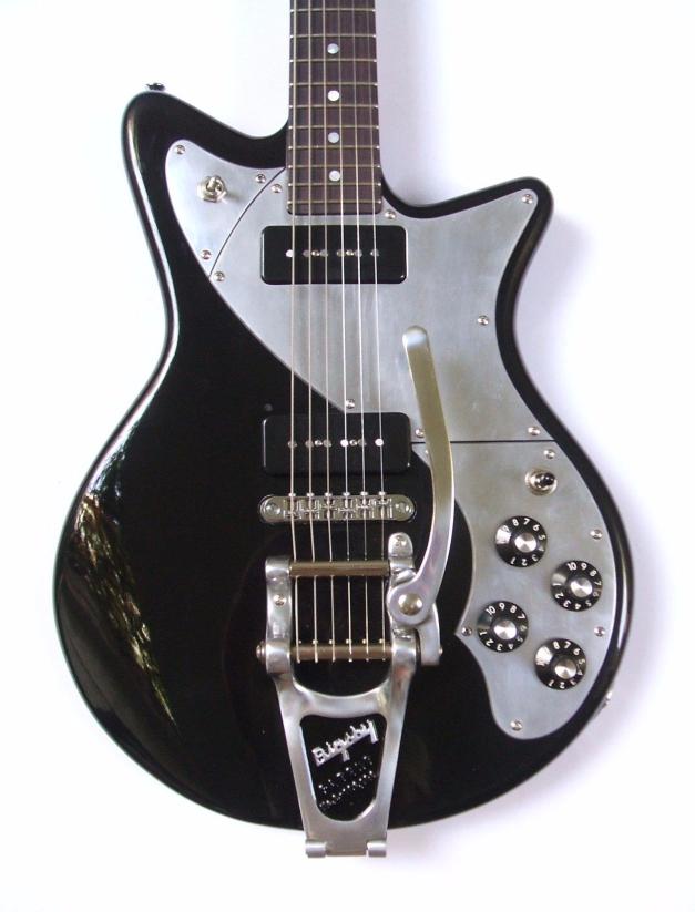 Guitarra dise+¦ada y construida por Galasso Guitars - 115011518579650